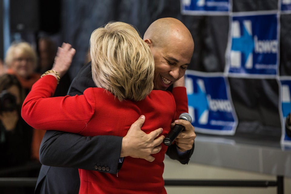 Cory Booker Hints He's Being Vetted as Clinton's Potential Running Mate