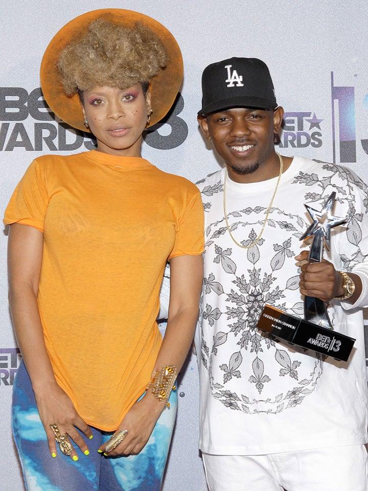 Erykah Badu Shuts Down Kendrick Lamar Hook Up Rumors