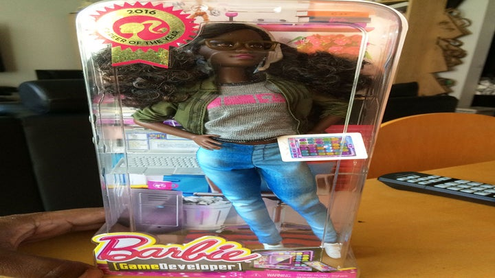 Husband Customizes a Black Game Developer Barbie For His Wife