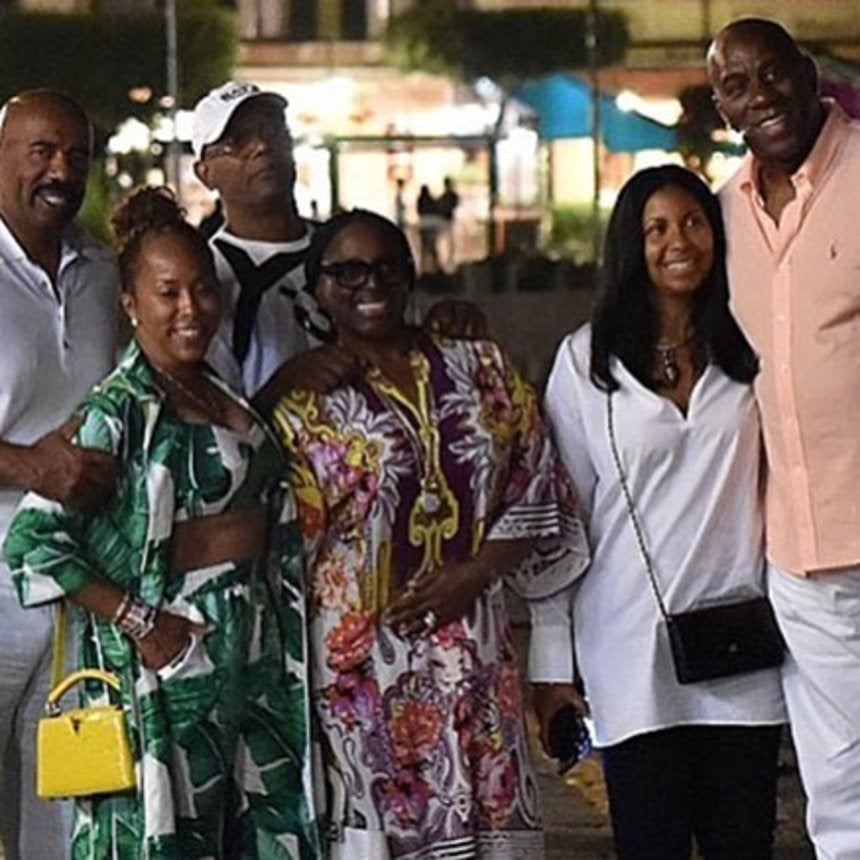 Steve and Marjorie Harvey Triple Date in Paradise with Other Famous Couples We Love