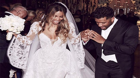 Ciara and Russell Wilson's Bridal Party Looked Like Absolute Royalty