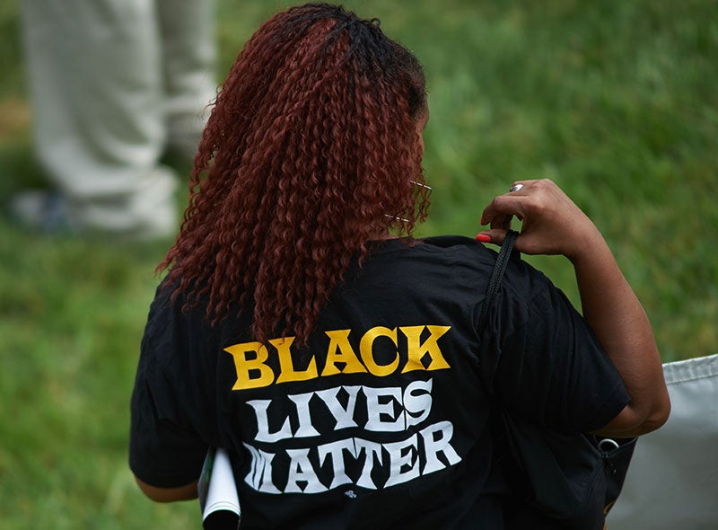 Law Professor Schools Students Who Complained About His Black Lives Matter Shirt