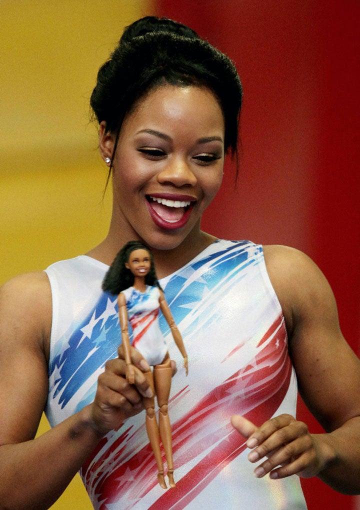 Gabby Douglas Debuts Her New #Shero Barbie Doll