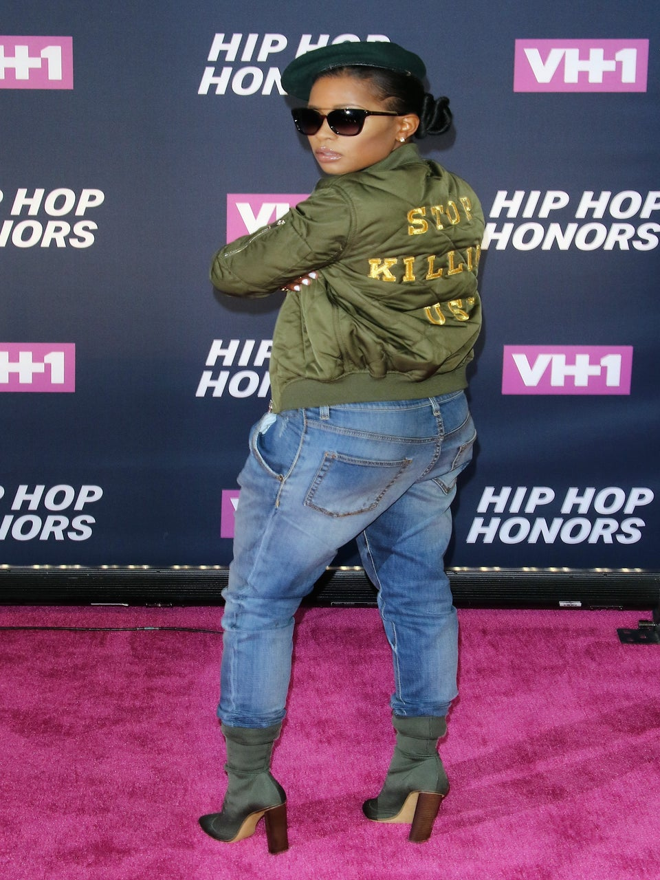 Dej Loaf Makes Powerful Statement With 'Stop Killing Us' Jacket at VH1 Hip Hop Honors