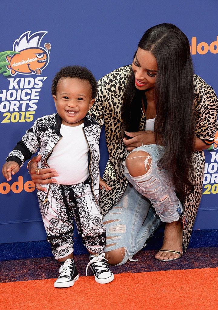 Where Did The Time Go?! Ciara & Russell Wilson Celebrate Baby Future's First Day Of School