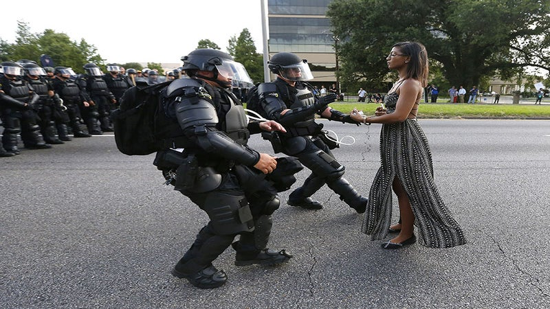 Woman In Iconic Baton Rouge Protest Photo Releases Statement