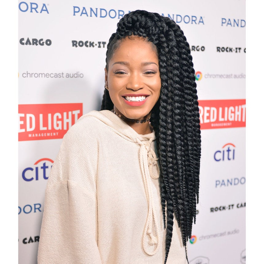 Keke Palmer Embraces Her Flaws With #NoFilter Selfie