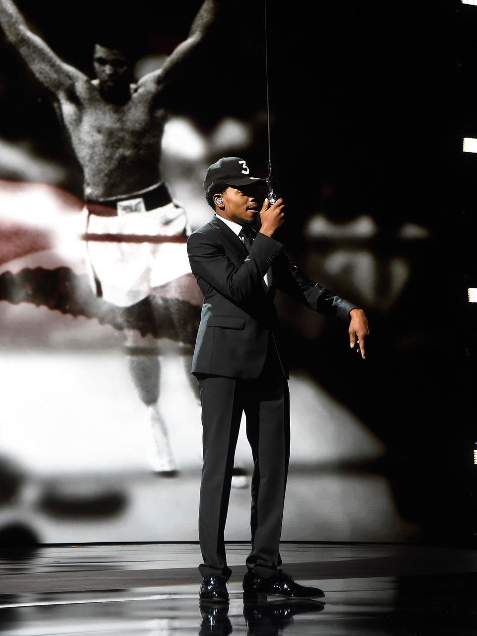 Chance The Rapper Pays Tribute To Muhammad Ali During ESPY Awards
