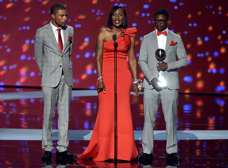 Zaevion Dobson's Mother Accepts His ESPY Courage Award With Moving Speech On Ending Gun Violence