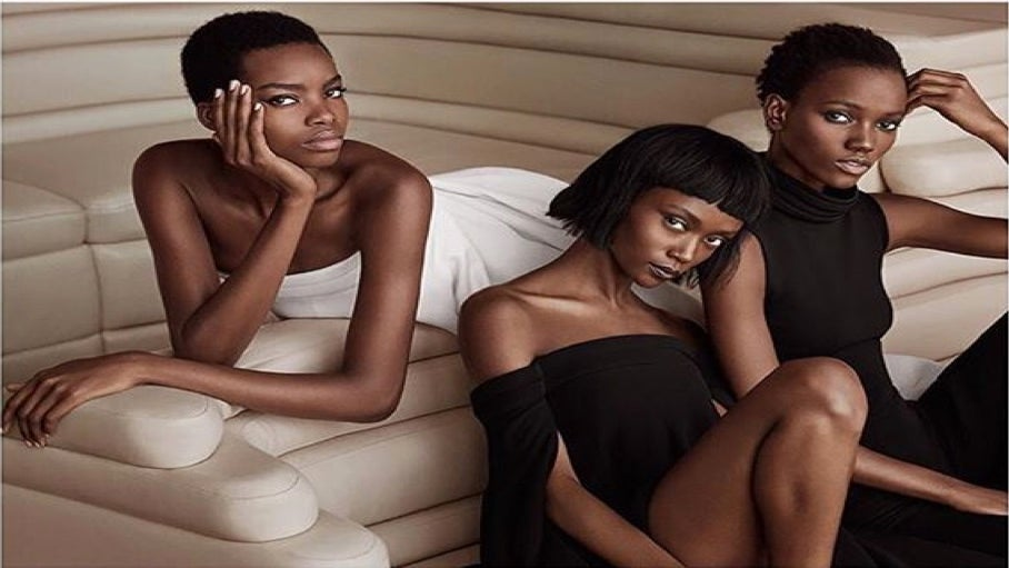 Four Black Supermodels Strike a Pose in new Brandon Maxwell Campaign