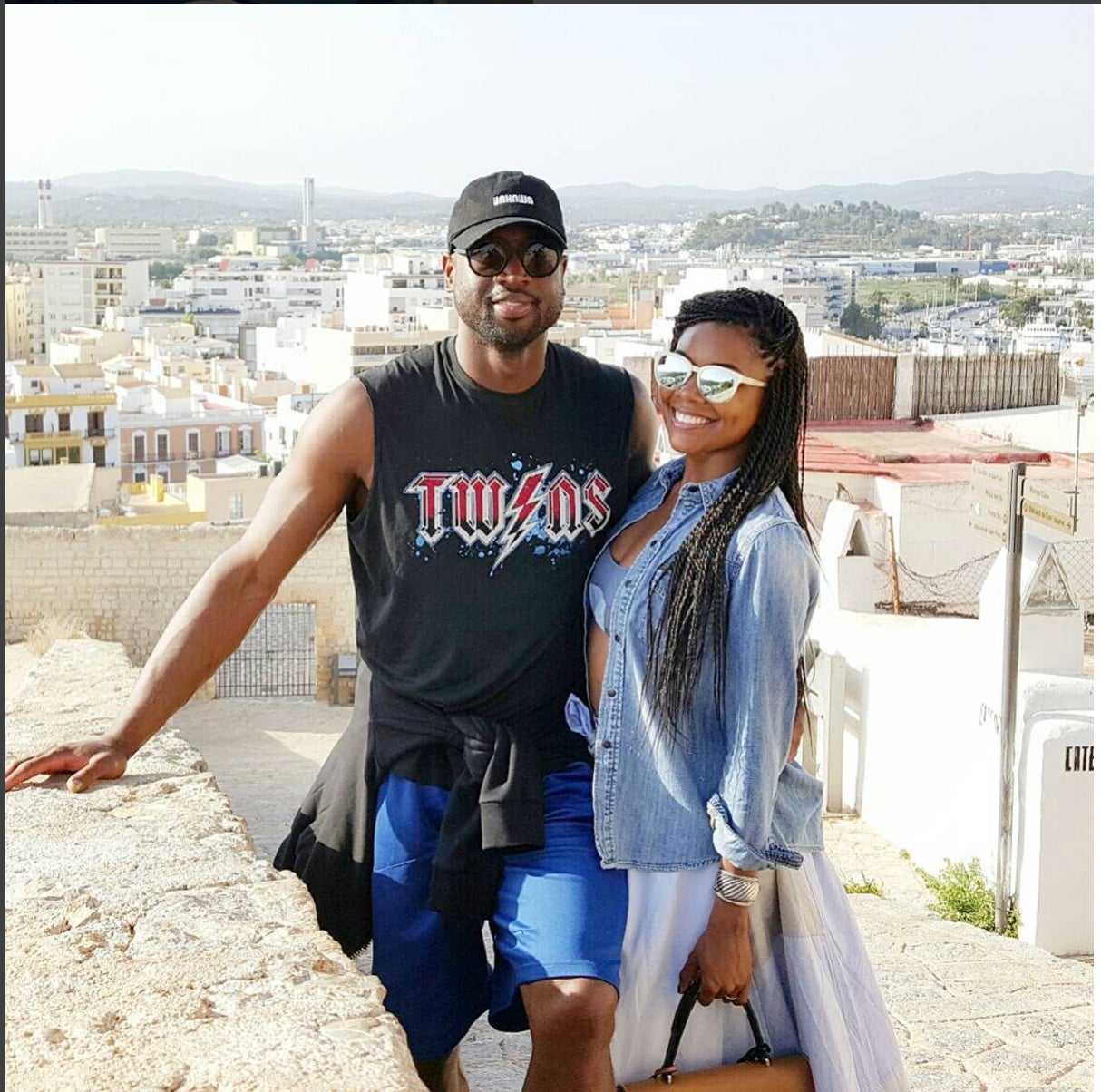 Gabrielle Union and Dwyane Wade are Having a Ball in China