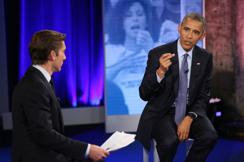 President Obama Defends 'Black Lives Matter' at Town Hall Meeting