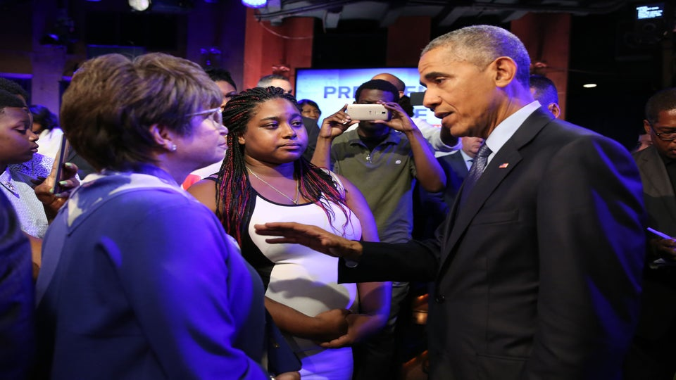 Eric Garner's Daughter Says ABC News Silenced Her At President Obama's Televised Town Hall Meeting