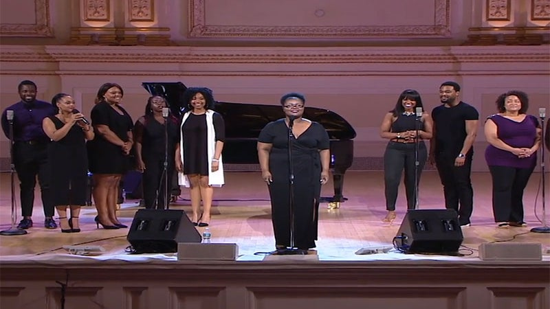 Aspiring Singer Jasmine Holloway Gets Surprised By Broadway Cast Of 'The Color Purple'
