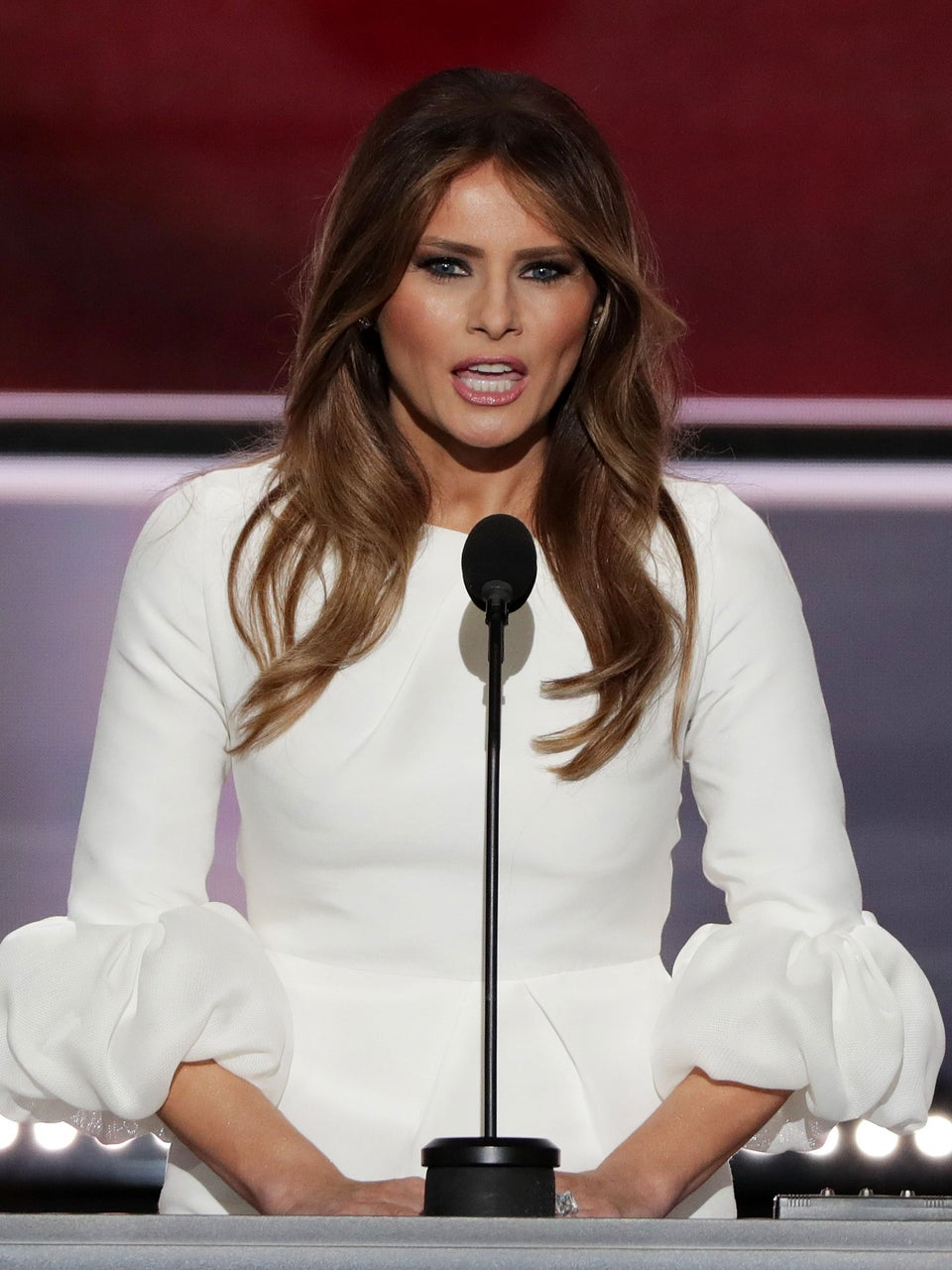 Melania Trump Accused Of Plagiarizing Michelle Obama's Speech