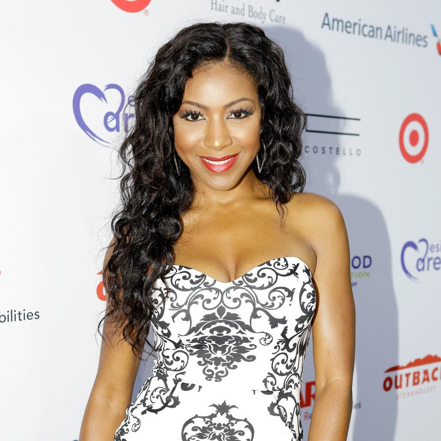 Gabrielle Dennis Looking Lovely at the HollyRod Foundation's DesignCare Gala