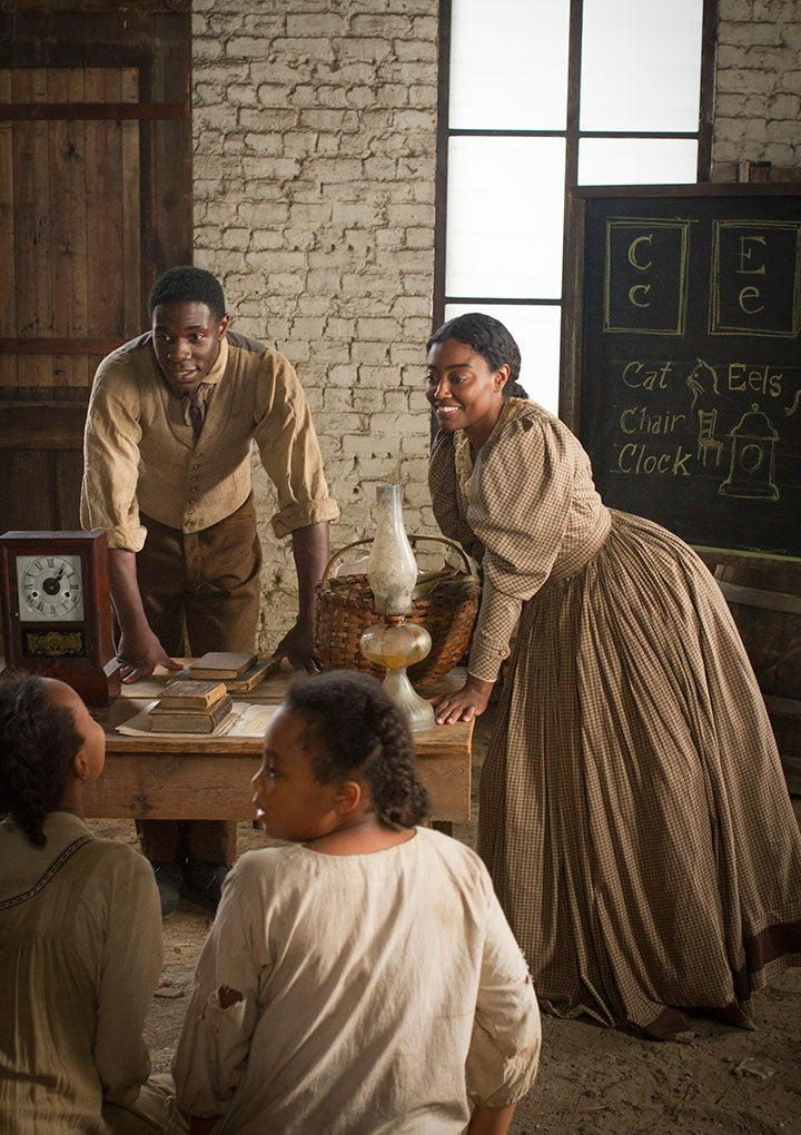 'Mercy Street' Stars Patina Miller and McKinley Belcher III Talk Harriet Tubman and 'Contraband' Blacks
