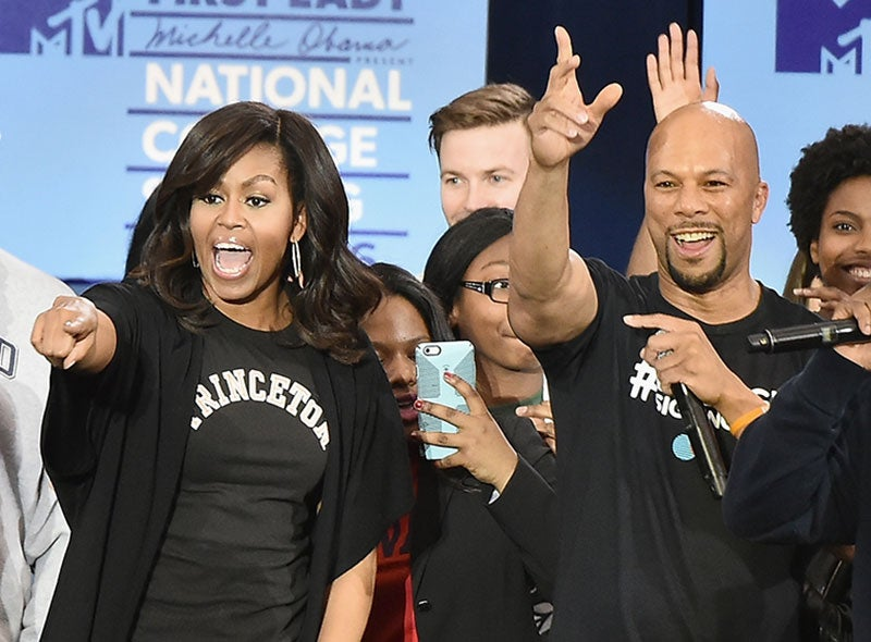 Common Talks About His College Experience and Collaborating with Michelle Obama