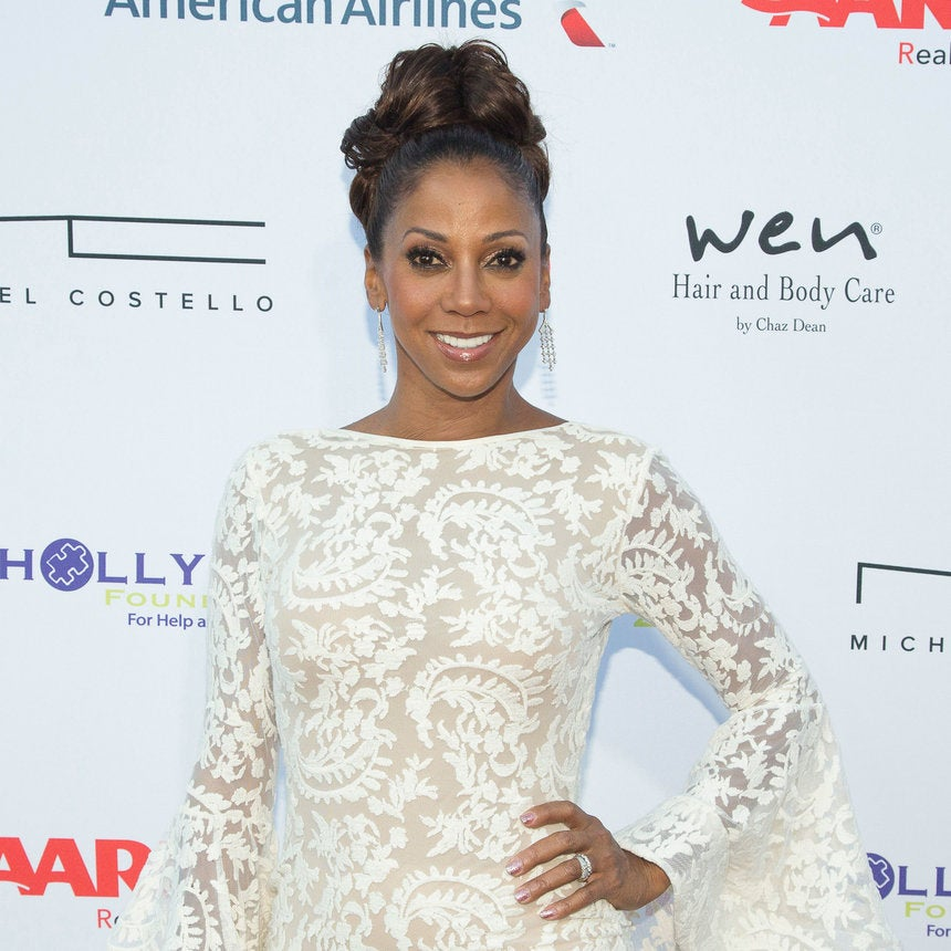 Holly Robinson Peete Is All Glam From the Front and the Back!