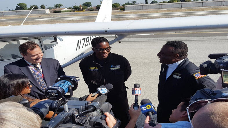 Isaiah Cooper Becomes The Youngest Black Pilot To Fly Across America