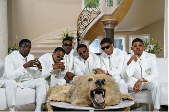 Calling All Candy Girls! 'The New Edition Story' Cast Recreates Iconic Pic