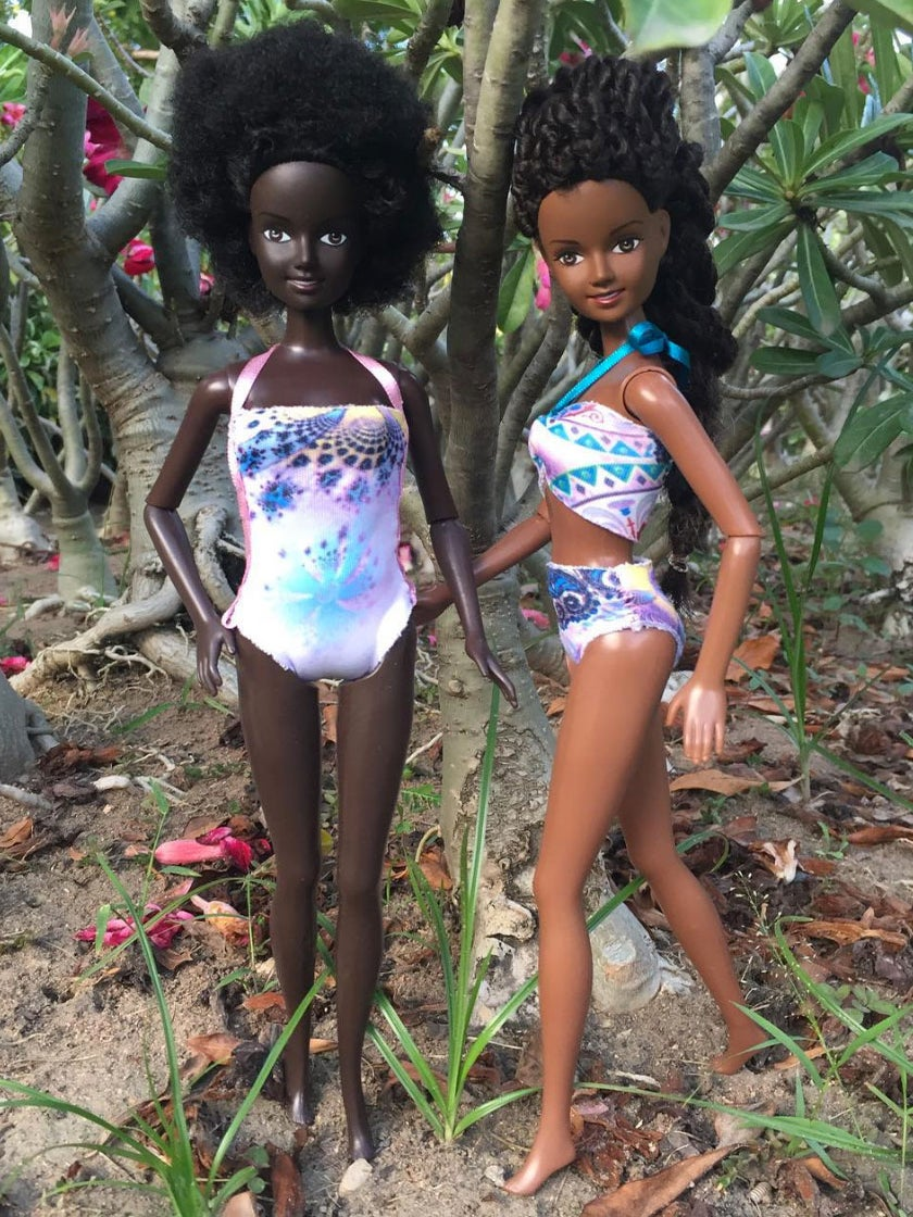 Black Doll Creator Checks Criticism From Customer That Doll Is Too Dark