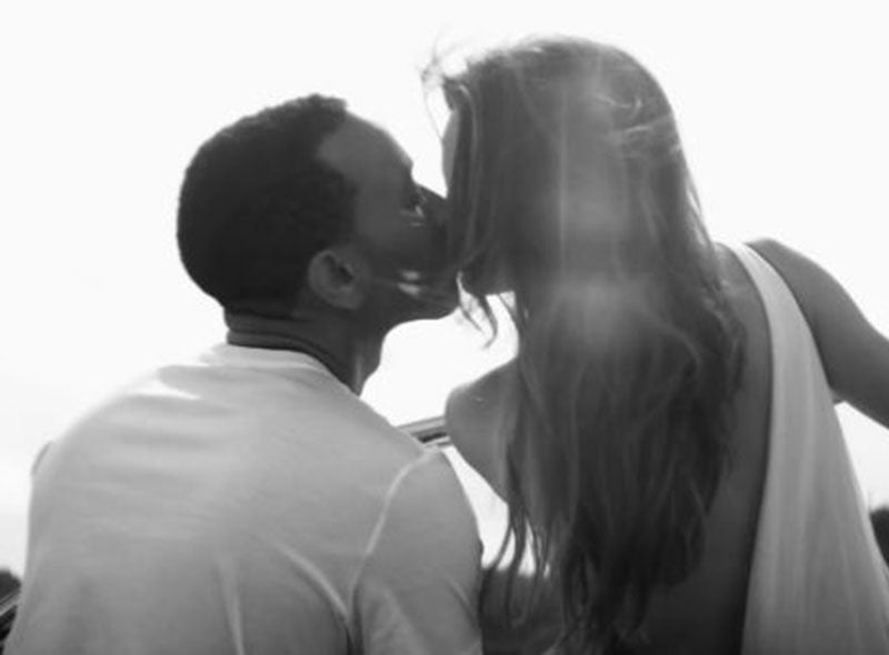 John Legend and Chrissy Teigen Take Baby Luna to House Where 'All of Me' Video Was Shot