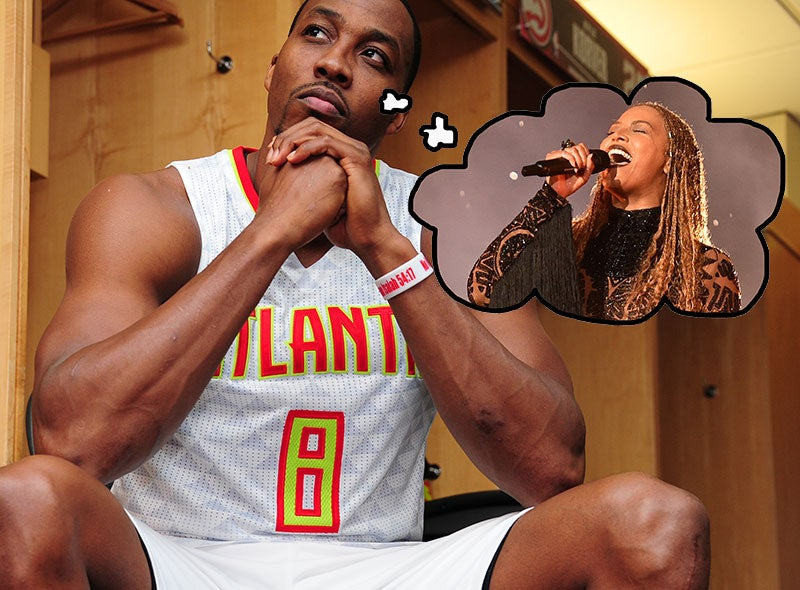 Beyoncé Helped Dwight Howard Focus At The Free Throw Line