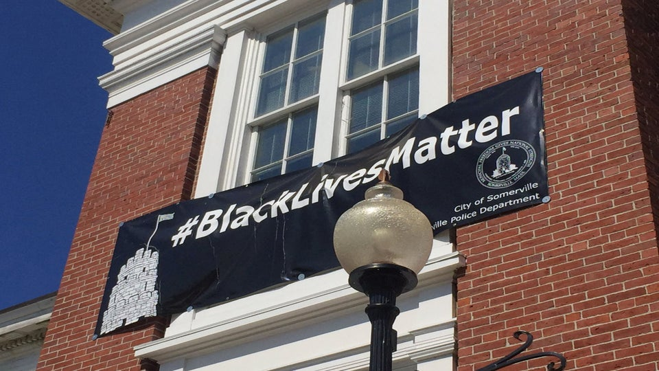 Massachusetts Mayor Criticized for Keeping 'Black Lives Matter' Banner Hanging at City Hall