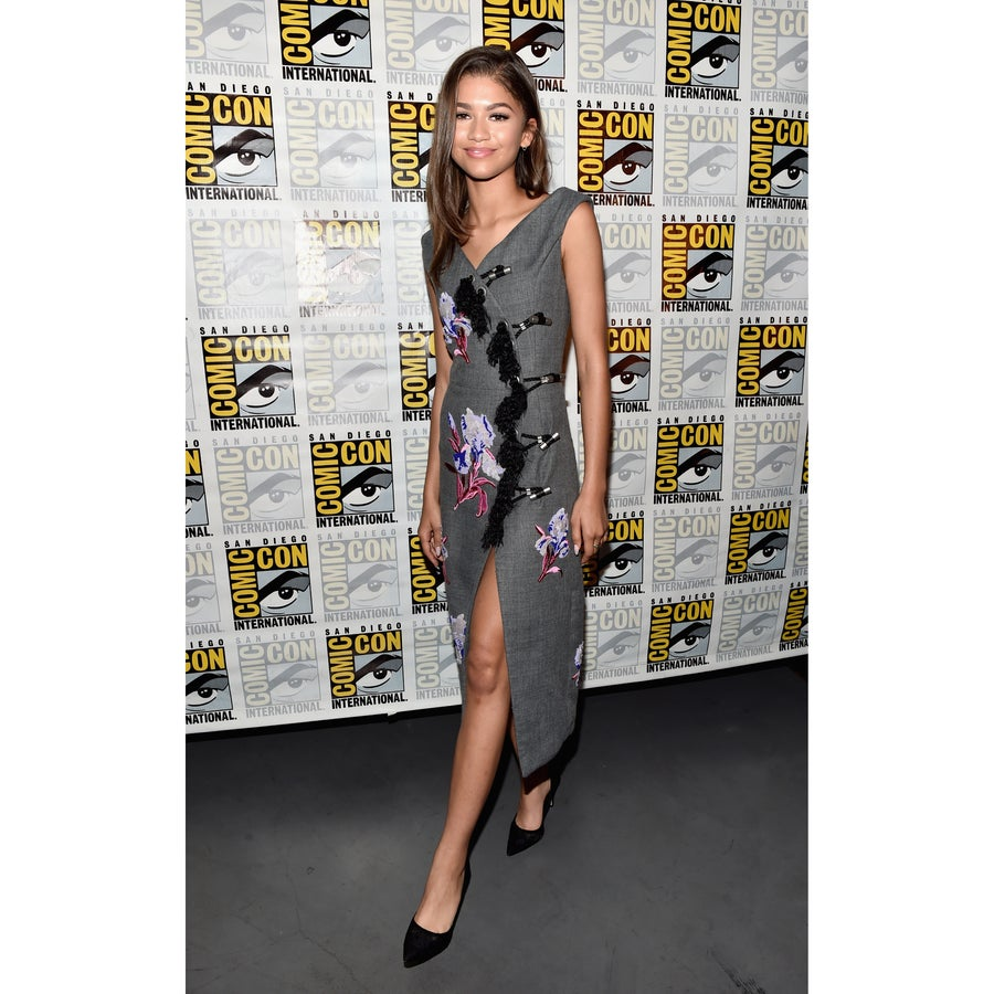 Look of the Day: Zendaya Slays as Usual in Fierce Kenzo Dress and Shoes From Her Own Collection