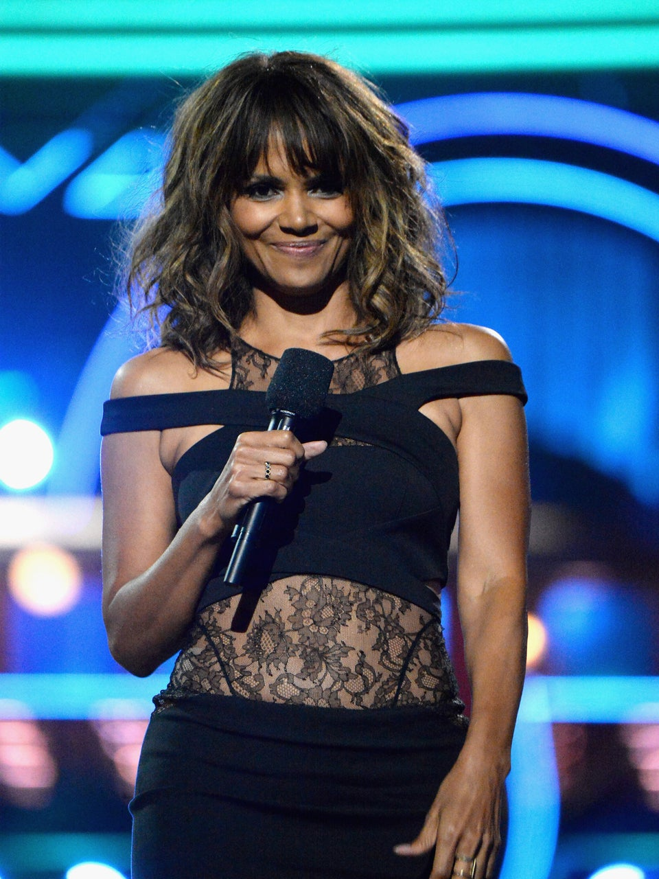Halle Berry Gives Daughter Nahla a Head Full of Amazingly Colorful Braids