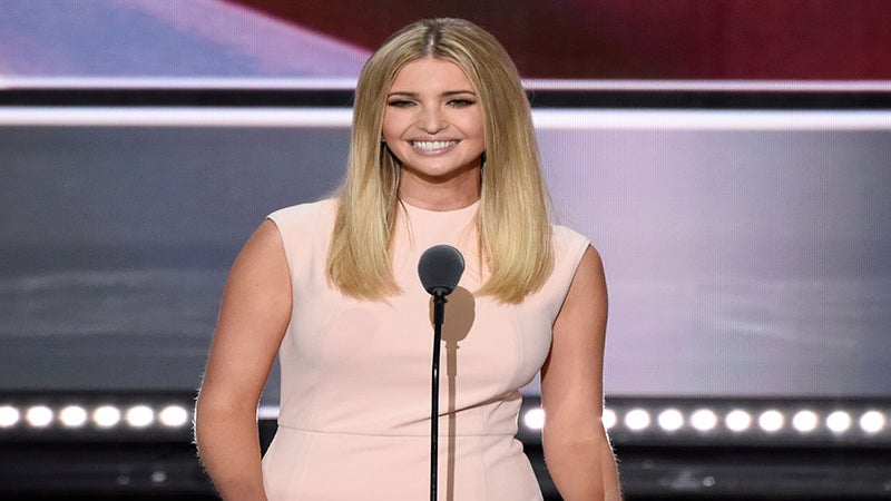 Donald Trump's Daughter Ivanka Says Her Father Is 'Colorblind', Twitter Laughs