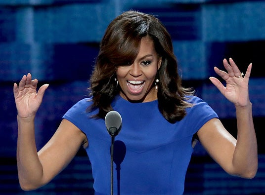 Michelle Obama Rocks Her DNC Speech and Twitter Agrees
