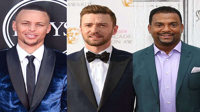 Watch Stephen Curry Do 'The Carlton' with Alfonso Ribeiro and Justin Timberlake