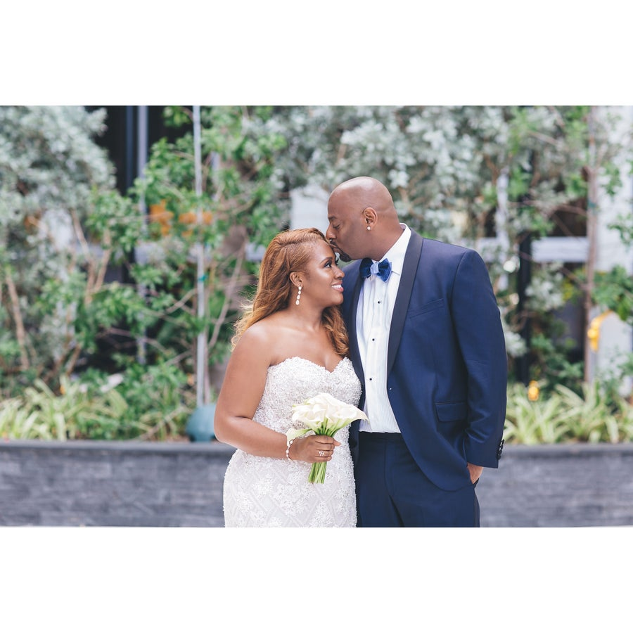 Bridal Bliss: April and Erick's Modern Love Story Began In a Convenience Store
