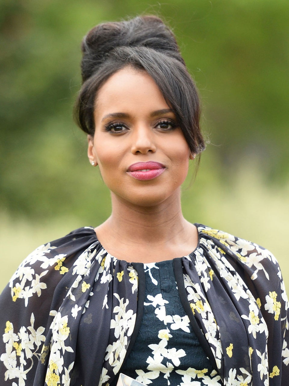 Kerry Washington Is Back For a Table Read of 'Scandal' Rocking Cornrows