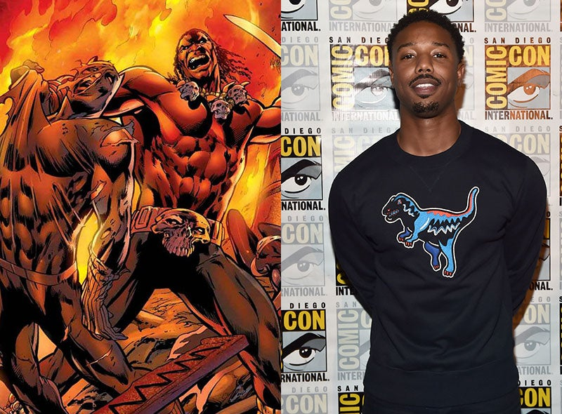 Michael B. Jordan's 'Black Panther' Character Has Finally Been Revealed