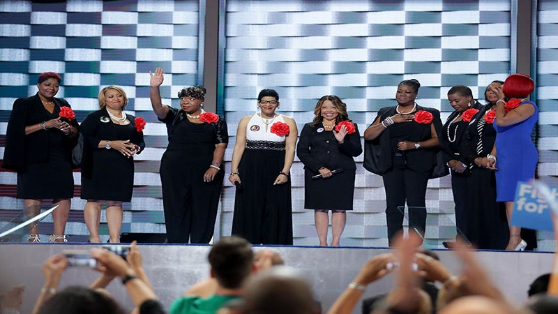 'Mothers of the Movement' Deliver Powerful Message at DNC: 'I Did Not Want This Spotlight'