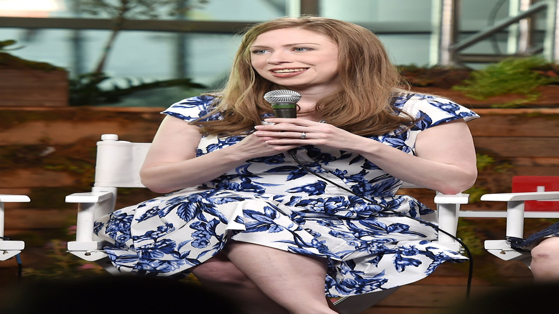 Chelsea Clinton Tears Up Watching Her Mother Become The First Woman To Secure A Presidential Nomination