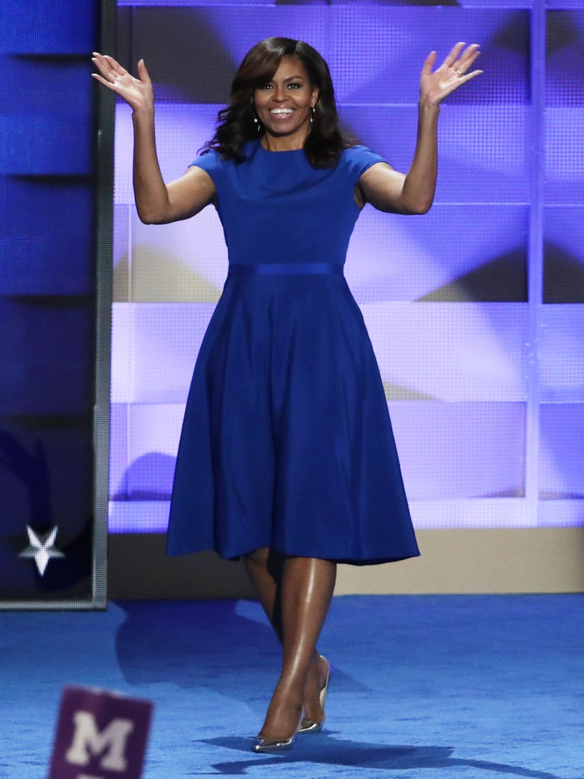 You'll Love Michelle Obama's Reaction to President Obama's DNC Speech