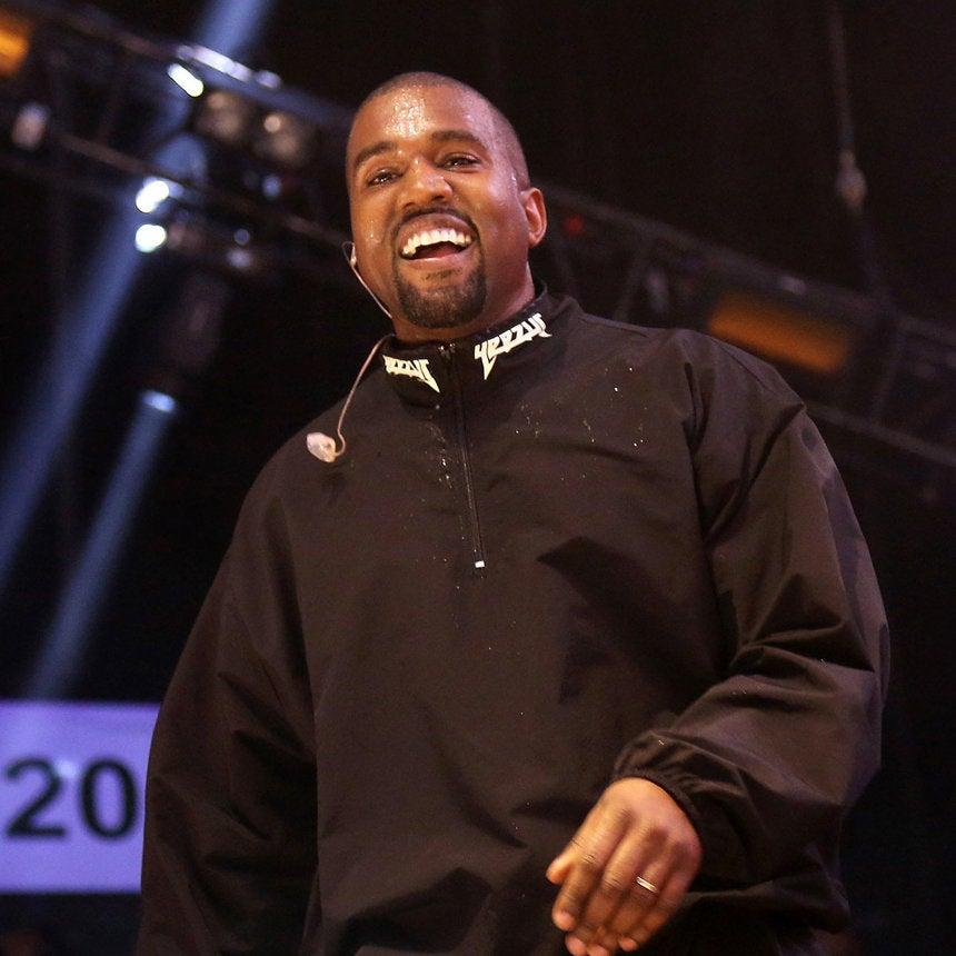 Kanye West Shouts Out Kim Kardashian's Snapchat at Drake Concert