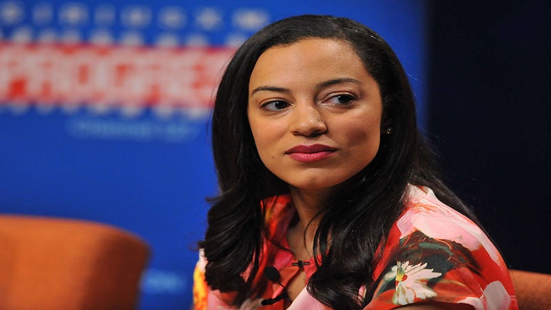 CNN Political Commentator Angela Rye Slams Twitter Trolls For Questioning Her Intelligence