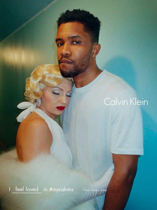 Frank Ocean and Zoe Kravtiz Star in the Calvin Klein Fall Campaign
