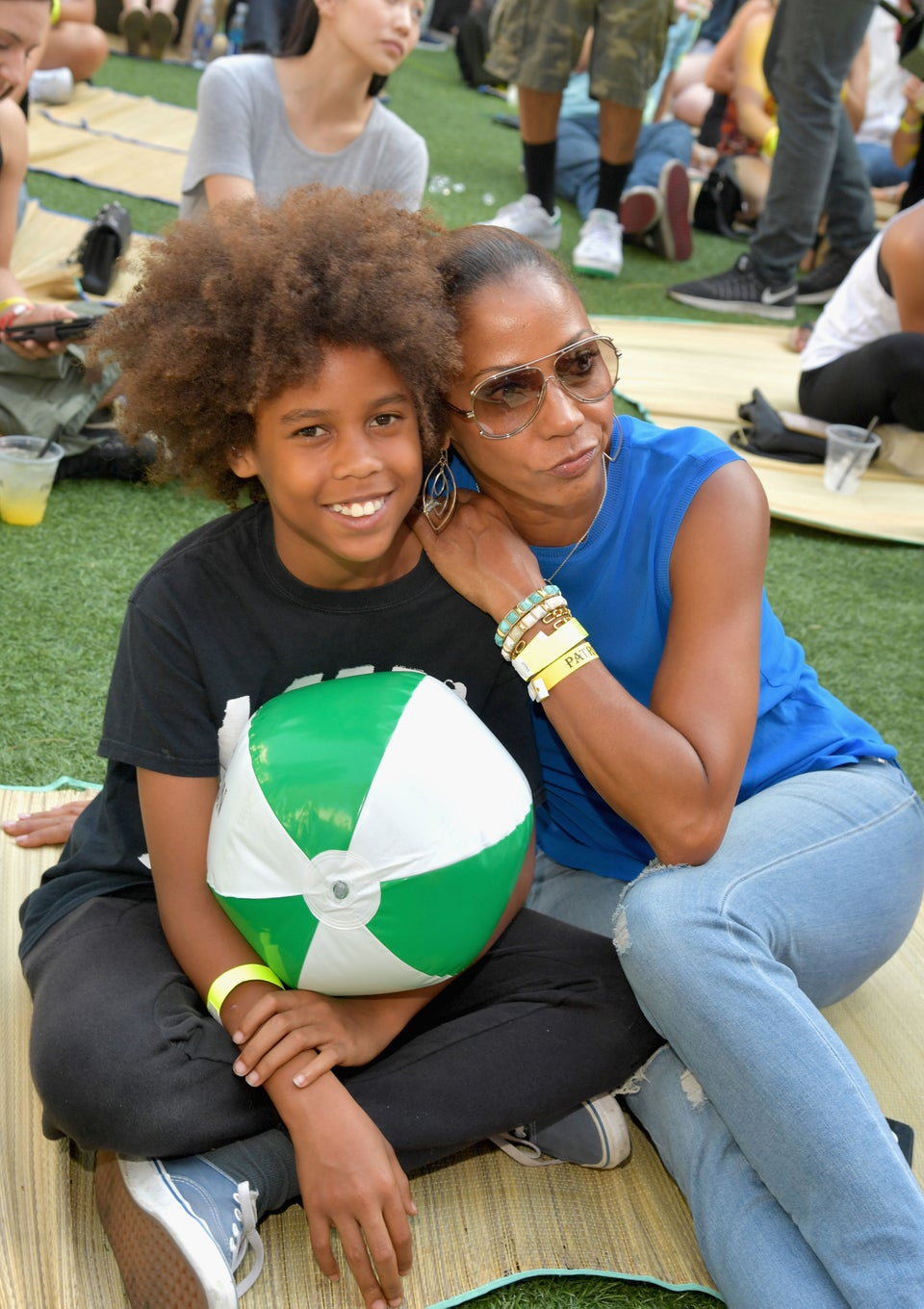 Holly Robinson Peete Shares Photo of Her Son's Beautiful Curls