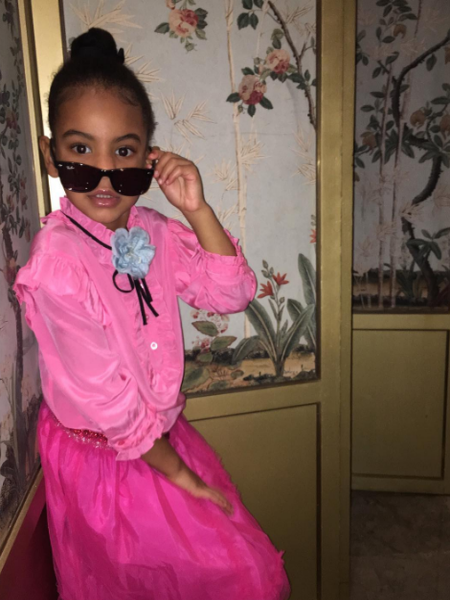 Blue Ivy Strikes a Pose on Solange's Instagram and Our Hearts Melt