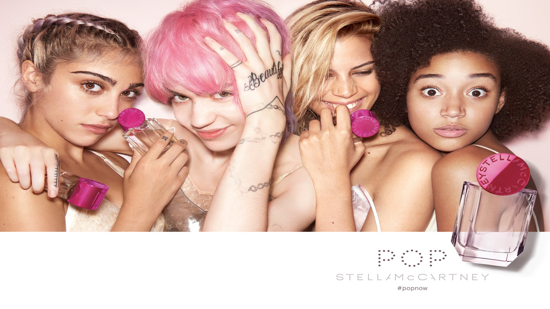 Amandla Stenberg Stars in Stella McCartney's New Fragrance Ad and it's Dope