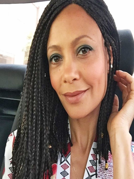 #BlackBeauty of the Day: Thandie Newton's Box Braid Bob Is Everything