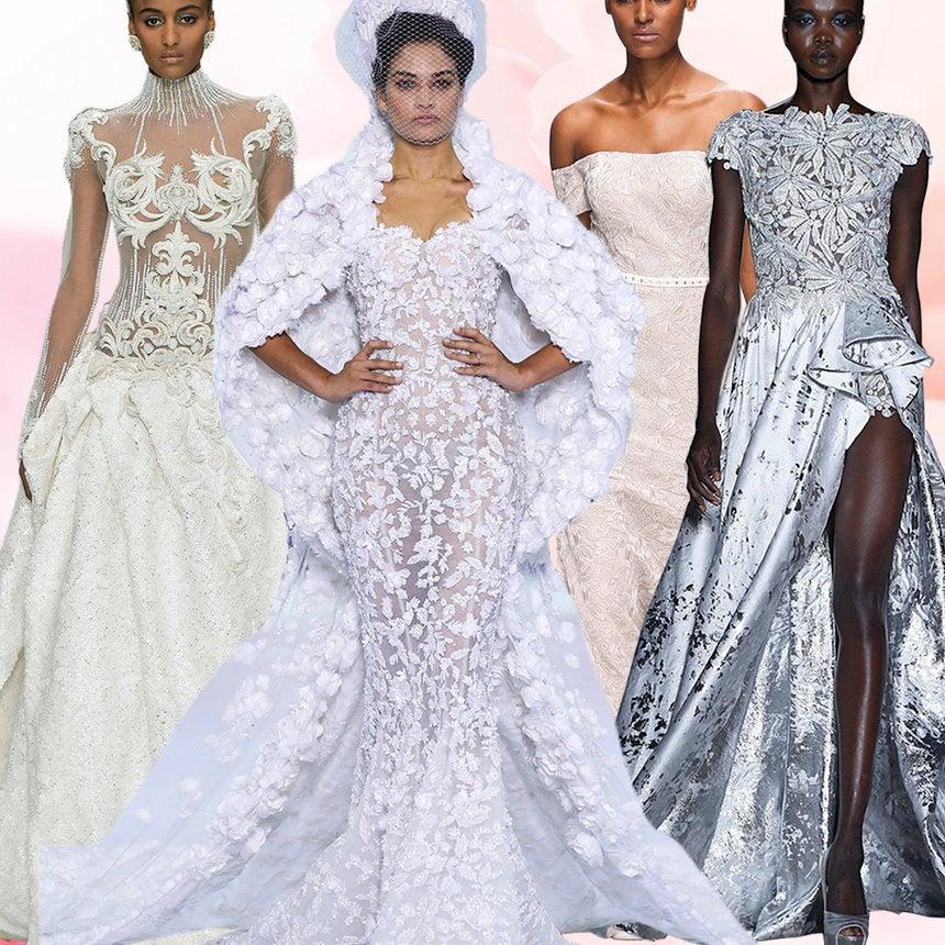 23 Stunning Wedding Dresses Fresh From The Paris Haute Couture Runway