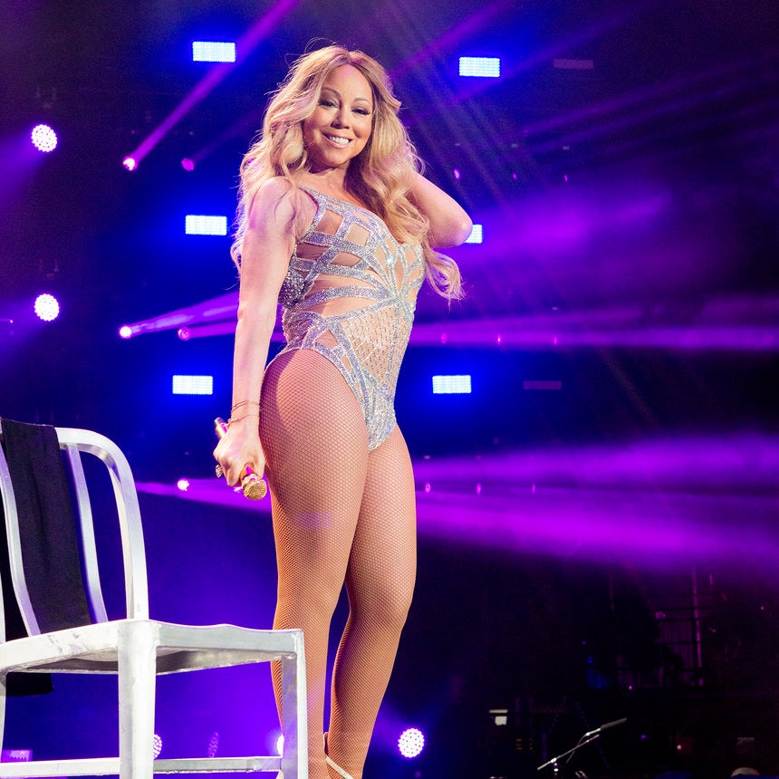 Mariah Carey Makes ESSENCE Festival Debut and Enters Like the R&B-Pop Queen She Is