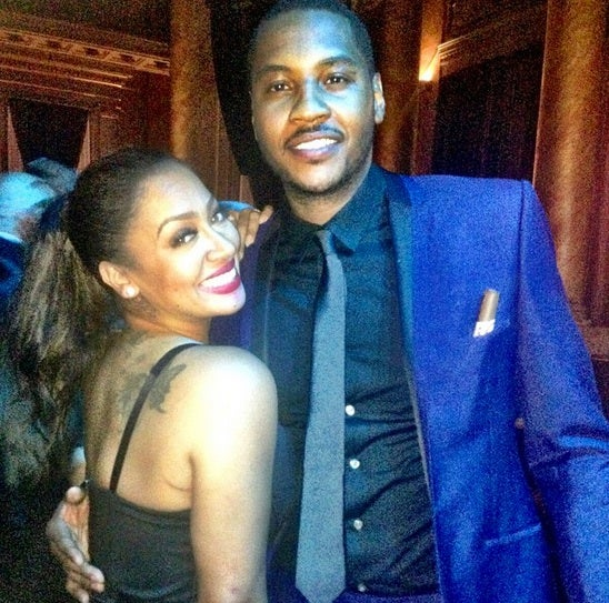 LaLa & Carmelo Anthony Celebrate Six Years Of Marriage: See Their Sweet First Dance Photo
